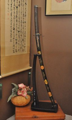 Rare Early Showa Period Antique Japanese Samurai by DLDowns, $627.00 I dream this swords,,,historical
