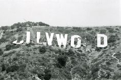 Demolition Of The Hollywood Sign