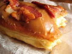 Bacon Maplebars from Voodoo Donuts~yum