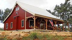 JYA609 - Ponderosa Country Barn Home1