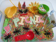 Wesley Summer Picnic Sensory Box/Bin by ChildsPlayCreations on Etsy Sensory Activities, Preschool Activities, Sensory Kids, Preschool Weather, May Themes, Food Themes, Picnic Theme, Camping Theme, Summer Picnic