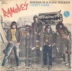 The Ramones - Sheena is a punk rocker Sire Records SAA - vinyl record Rock And Roll, Rock & Pop, Ramones, Beatles, Cd Album Covers, Vinyl Poster, Joey Ramone, Iggy Pop, Great Albums