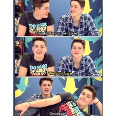 Jack and Finn Harries ❤ ❤ liked on Polyvore featuring youtubers, photos, pictures, celebs and jack and finn