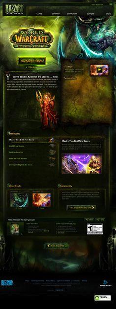 World of Warcraft: Burning Crusade  http://us.blizzard.com/en-us/games/burningcrusade/