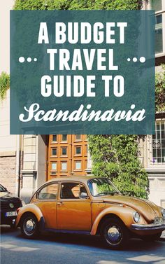 Travel to Scandinavia doesn't have to cost a fortune! Find this budget travel guide to Scandinavia over at Intrepid Travel I like that!