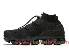 newest collection 4af7f 63e8e Nike Air VaporMax Flyknit Utility AH6834-001 Chaussures Nike 2018 Pas Cher  Pour Homme Triple
