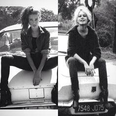 #Style: Who Wore it Better ? Thania Peck VS #BridgetteBardot #fashion #trends #style