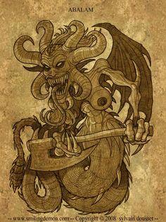 Myths & Monsters, Satanic Art, King Solomon, Occult Art, Arte Horror, Angels And Demons, Magical Creatures, Magick, Supernatural