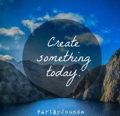 Make art - not war! - Jounda Strong