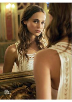 Alicia Vikander - my new girl crush