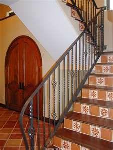 Tiled Staircase Design