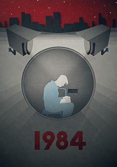 George Orwell 1984 poster