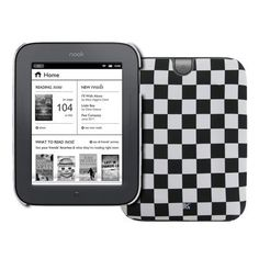 EMPIRE Black and White Checkered Stealth Design Hard Case Cover for Barnes and Noble Nook Simple Touch by Empire. $5.85. This Barnes and Noble Nook Black and White Checkered Design case cover provides excellent protection from dust, scratches, and unwanted blemishes. The Barnes and Noble Nook Black and White Checkered Design case cover also allows for full functionality of your device with openings for all buttons, ports, jacks, and speakers. Provide your device with exce...