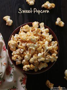 Sweet popcorn recipe using jaggery