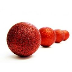 Red Crystal Glitter Bauble gorgeous baubles at a bargain price!