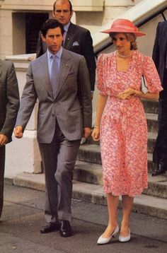Prince Charles and Princess Diana arrived in Sydney during royal tour of Australia and New Zealand, Mach 28, 1983