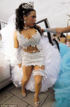 ghetto wedding dresses