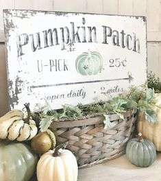 decor ideas 2019 Excited to share this item from my shop: Pumpkin Patch Vintage Sign / U-p. Excited to share this item from my shop: Pumpkin Patch Vintage Sign / U-pick pumpkins sign / old chippy pumpkin sign/ fall decor sign Fall Decor Signs, Fall Signs, Fall Home Decor, Fall Wood Signs, Blue Fall Decor, Autumn Decorations, Holiday Signs, Hanging Decorations, Home Decoration