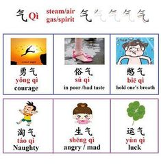气 Basic Chinese, Chinese English, Learn Chinese, Chinese Phrases, Chinese Words, Language Study, Learn A New Language, China, Chinese Alphabet Letters