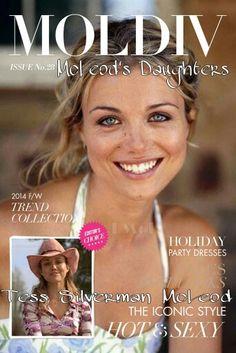 McLeod's Daughters Wallpaper by Elizabeth McFarland- Tess McLeod