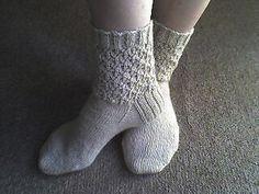 Knitted Honey Socks by Angel