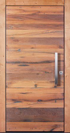 Pieno Haustüre ARLBERG mit Altholz hell - Pieno Türen sind ab sofort jetzt auch bei Fenster-Schmidinger aus Gramastetten / Oberösterreich erhältlich. #Türen #Holztüre #Altholz #Arlberg