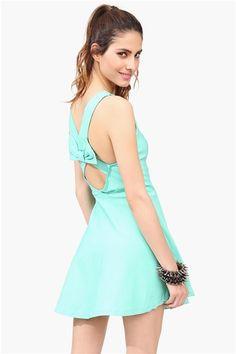 Lovely Day Dress - Mint