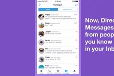 Twitter now filters DMs from people you don't know