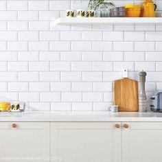 Hill Ceramic Kakel Premium Bistro Vit Blank 9,5x19