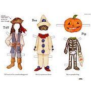 ver mas Recortables Halloween