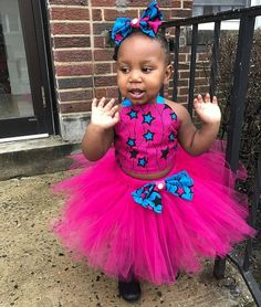 Latest Ankara Styles For Kids (Girls) Baby African Clothes, African Dresses For Kids, Cute Baby Clothes, African Kids, Ethnic Clothes, African Lace, Ankara Styles For Kids, Latest Ankara Styles, African Wedding Attire