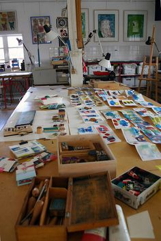 Workspace of Anne-Miek Bibbe