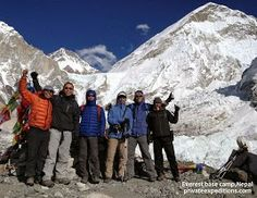 The Yeti Hunters 10th November 2013 Everest Base Camp with Private Expeditions