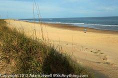 The Beautiful Beach At The Frisco, North Carolina Campground At Cape Hatteras National Seashore