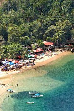 Mismaloya Beach in Puerto Vallarta Mexico