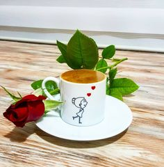 Good Morning Roses, Good Morning Coffee, Beautiful Morning, Coffee Latte Art, Coffee Love, Coffee Cups, Coffee Photography, Turkish Coffee, Flower Aesthetic