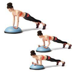 BOSU Dynamic Plank