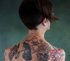 Looking Over The Shoulders Of Tattooed Chemistry Ambassador Randa Roland