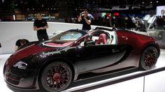 """WEB LUXO - Carros de Luxo: Bugatti Veyron ganha """"versão final"""" com 1.200 cv em Genebra"""