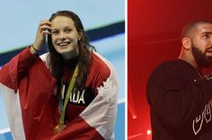 Drake Is Giving Penny Oleksiak Concert Tickets And We're So Excited For Her Story Of The Year, Feel Good Stories, Concert Tickets, Olympians, New Friends, Drake, Rain Jacket, Windbreaker, Board