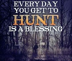Must remember this when hunting for days and not seeing much...
