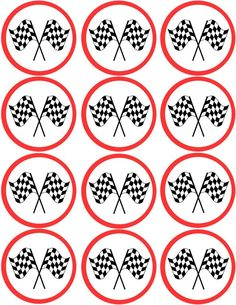 cupcake topper printable, made these myself! Hot Wheels Birthday, Race Car Birthday, Cars Birthday Parties, Festa Hot Wheels, Hot Wheels Party, Imprimibles Hot Wheels, Auto Party, Cars Birthday Invitations, Cupcake Toppers