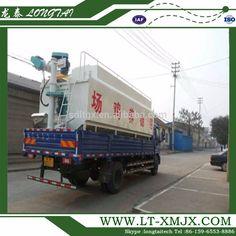 Bulk feeds truck for animal feed transport tank