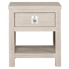 Bedroom Furniture For Sale,View Range Online Now - Cancun Bedside 1 Drawer White Wash Bedroom Furniture For Sale, Bedroom Dressers, Cheap Furniture, Luxury Furniture, Furniture Ideas, Bedside Lockers, Dresser Shelves, Freedom Furniture, Timber Wood