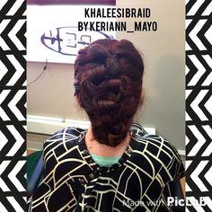 First attempt At khaleesi braid :)