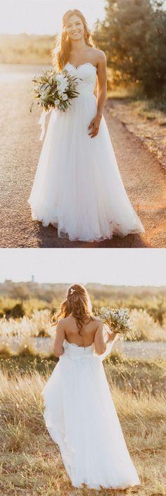 white wedding dresses,beach wedding dresses,lace wedding dresses,cheap bridesmaid dresses,bridal gowns @simpledress2480