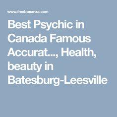 Best Psychic in Canada Famous Accurat..., Health, beauty in Batesburg-Leesville