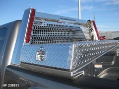 Gullwing Truck Tool Box by Highway Products 2 Truck Tools, Truck Tool Box, Gullwing Trucks, Chevy Silverado Accessories, Pickup Accessories, Truck Accesories, Roof Box, Utility Truck, Gold Bar Cart