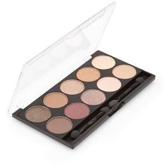 Forever 21 Eyeshadow Palette ($6.90) ❤ liked on Polyvore featuring beauty products, makeup, eye makeup, eyeshadow, beauty, palette eyeshadow, forever 21, shimmer eye shadow, eye shimmer makeup and shimmer eyeshadow