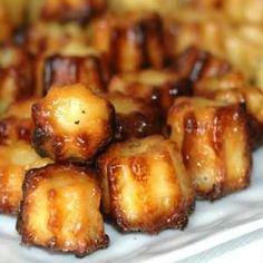 Cannelés salés: Version salée des célèbres cannelés bordelais, ces mini cannelés salés chèvre et miel…